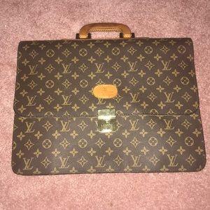 Authentic Vintage Louis Vuitton Briefcase